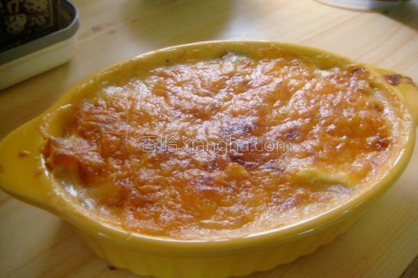 磨菇玉米焗烤饭的做法