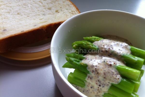 芦笋芥末籽沙拉的做法