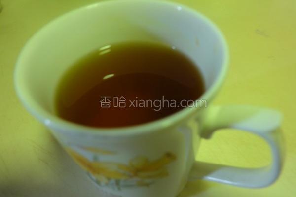 养身姜黄茶的做法