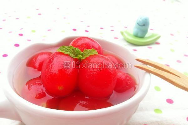 C渍小番茄的做法