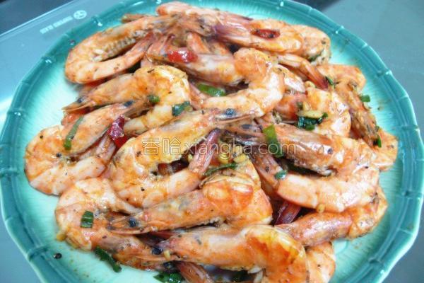 香酥鲜虾的做法
