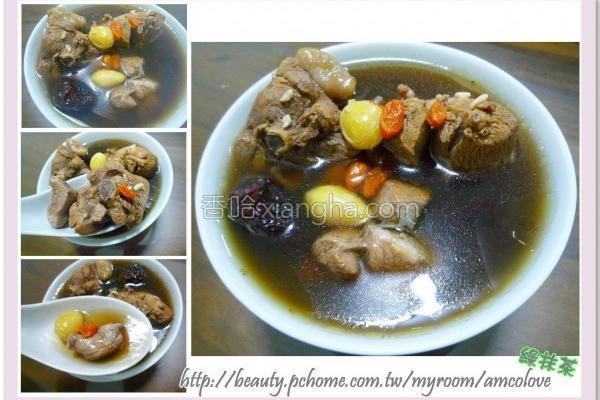 四物酒酿鸡汤的做法