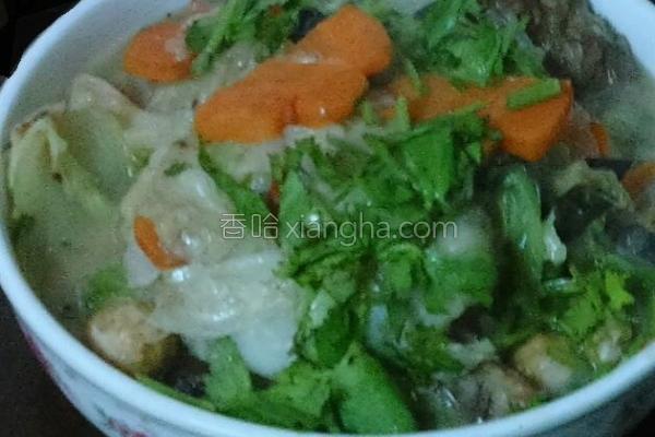 菜篮食材大白菜的做法