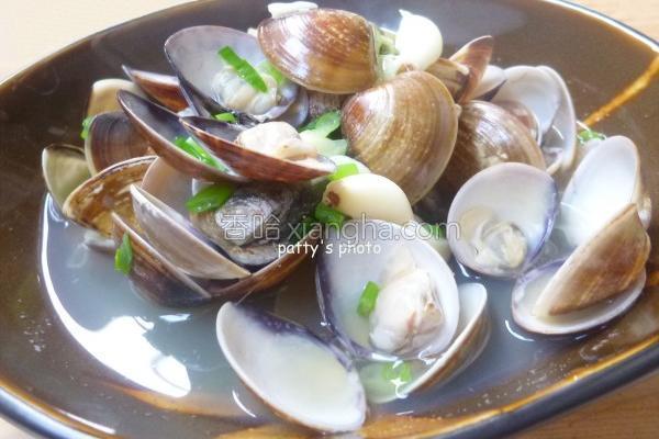 海鲜肉类高粱蛤蜊的做法