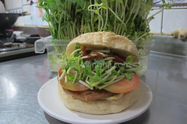 超营养汉堡包的做法