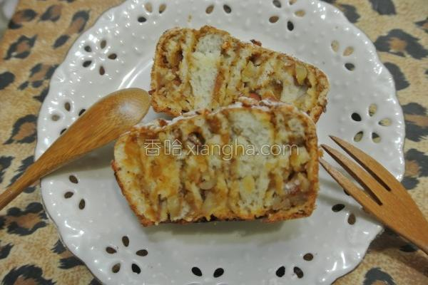 面粉栗子酱面包卷的做法