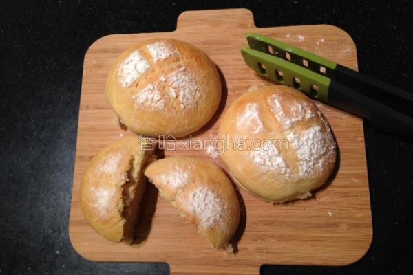 蜂蜜生姜面包的做法
