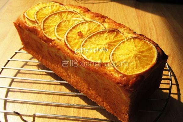 柳橙磅蛋糕的做法
