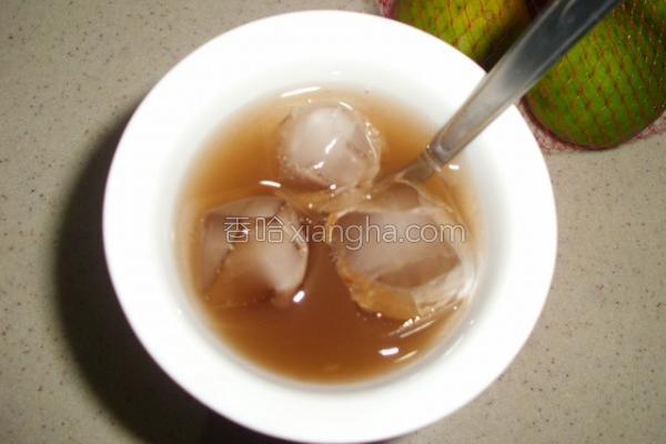 柠檬梅子茶的做法
