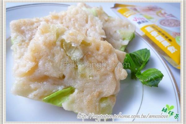 燕麦蔬菜蛋饼的做法