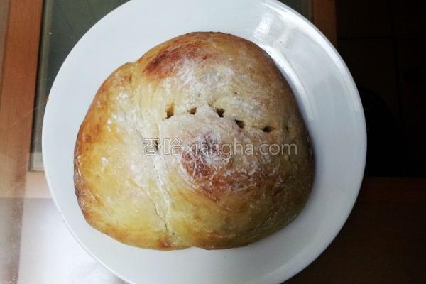 面粉奶油香面包的做法