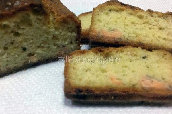 香葱鲑鱼蛋糕的做法