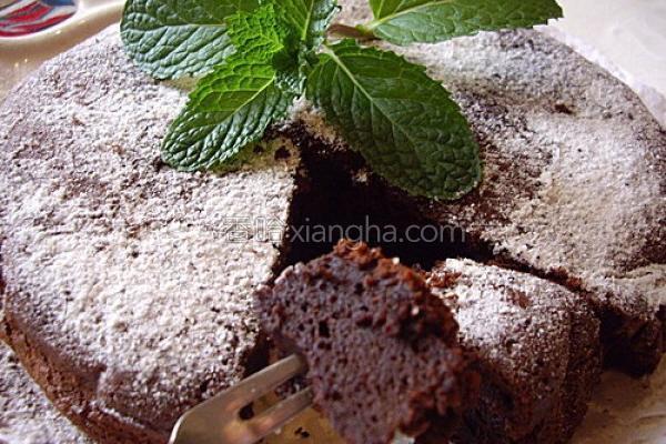 典藏巧克力蛋糕的做法