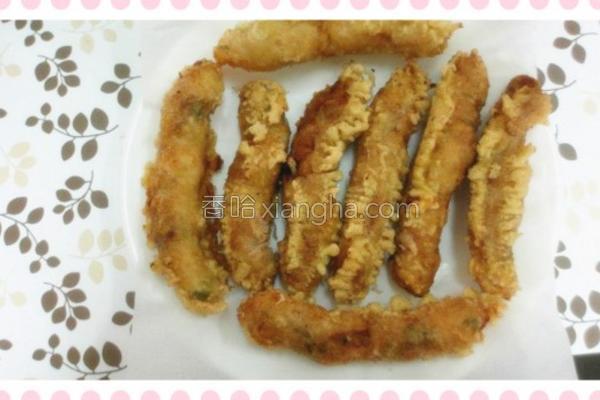 酥炸虾卷的做法