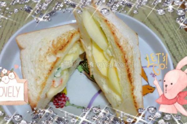 薯泥三明治的做法