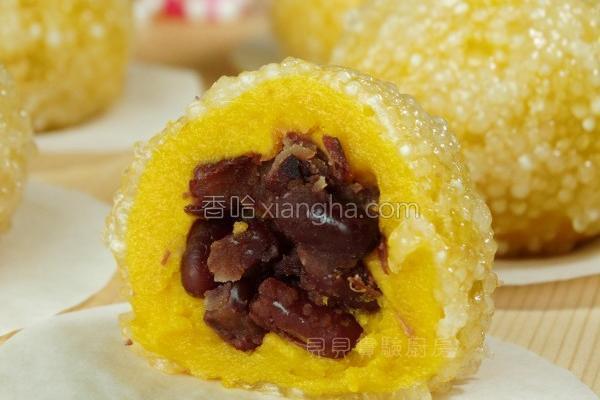 珍珠南瓜粿的做法