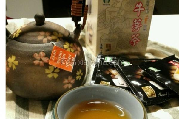 将军区农会牛蒡茶的做法