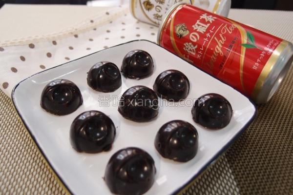 红茶巧克力的做法