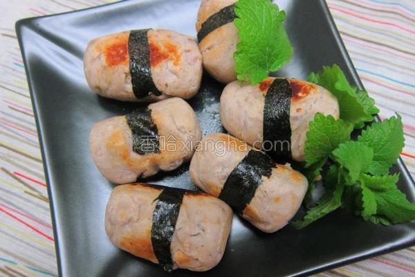 香煎肉松芋泥条的做法