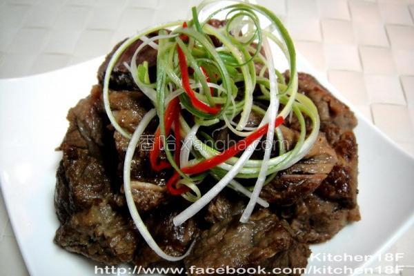 酱烧牛肉电锅的做法