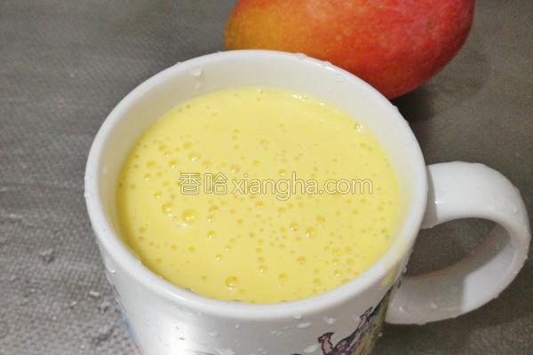 芒果香蕉优酪乳的做法