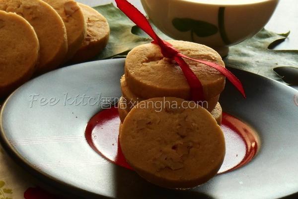 黑糖核桃饼干的做法