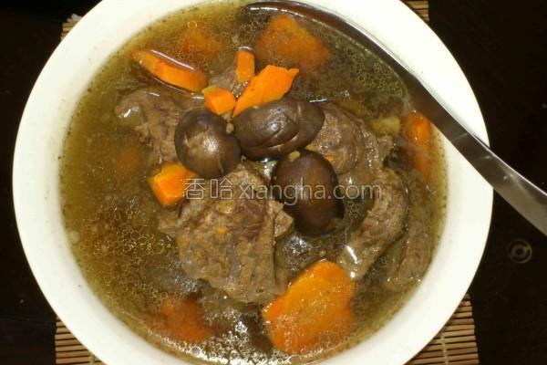 牛肉牛肉汤的做法