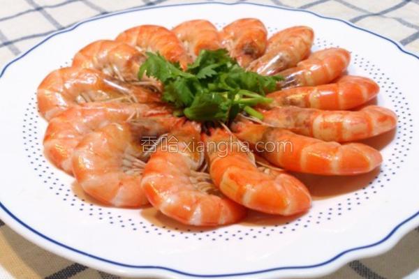 盐水酒虾的做法