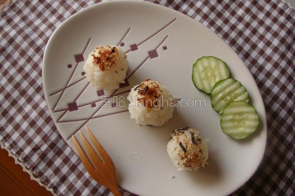 珍珠丸子饭团的做法