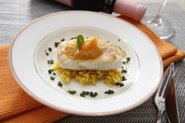 桔酱鳕鱼咖哩饭的做法