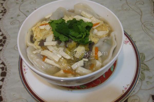 酸辣汤水饺的做法