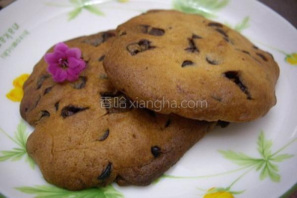 薄荷巧克力饼干的做法
