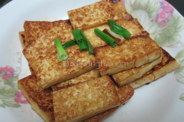干煎豆腐的做法