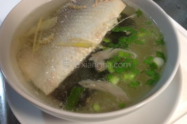 鱼肚鲜汤的做法