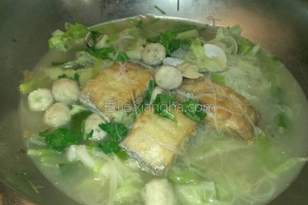 白带鱼米粉汤的做法