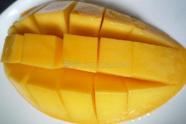 芒果乳酸冰沙的做法