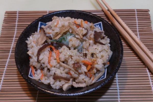 日式杂炊饭的做法
