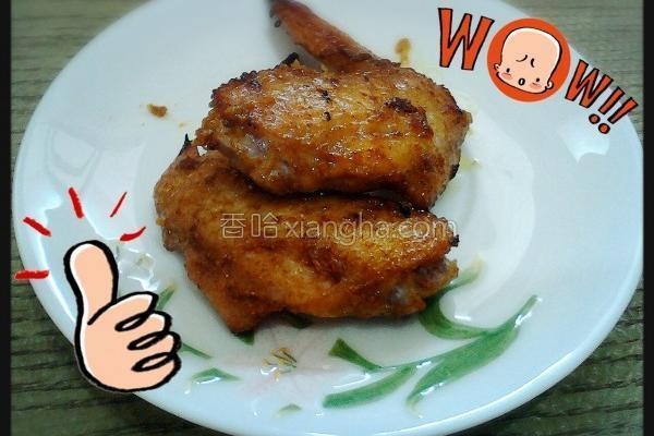 咖哩烤鸡翅的做法