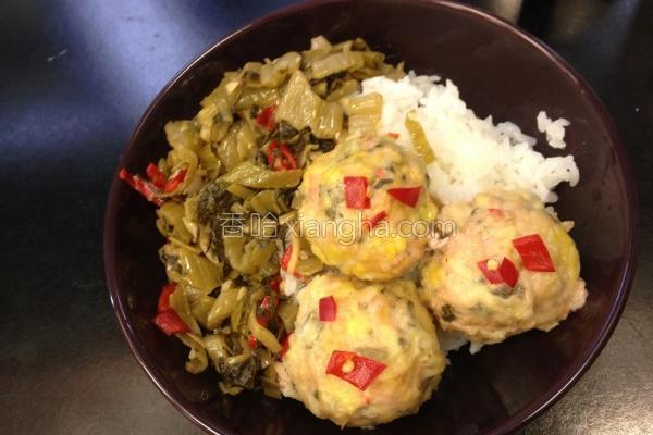 珍珠酸菜肉丸子的做法