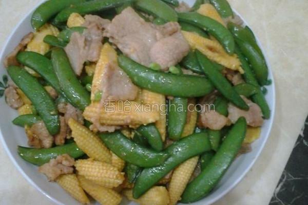 五花肉炒鲜蔬的做法