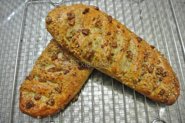 面粉山药面包的做法