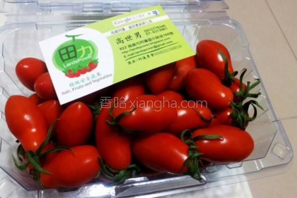 小番茄的做法
