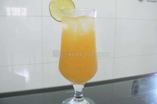 柠檬柳丁饮的做法