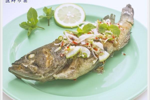 柠檬石斑鱼的做法