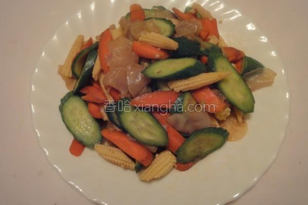炒蔬菜的做法