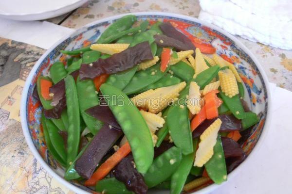 综合青菜炒的做法