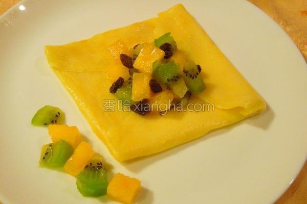 苹果檨法式薄饼的做法