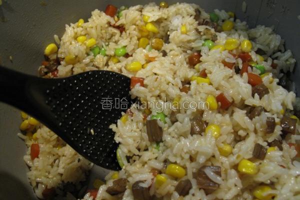 机米牛蒡饭的做法