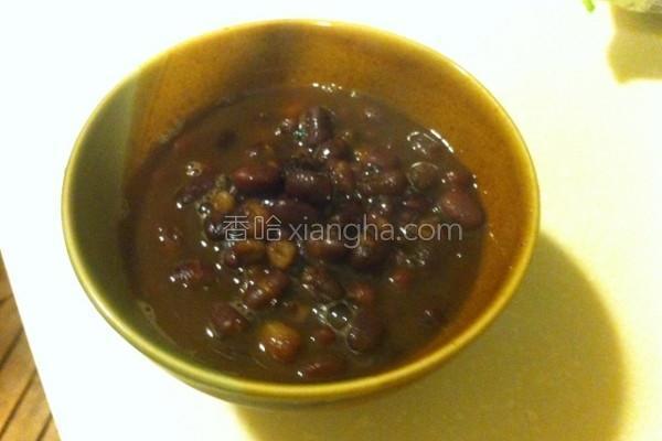 机红豆汤的做法