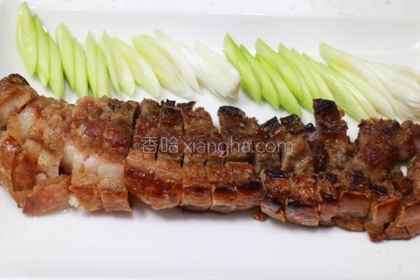 烤咸猪肉的做法